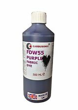 Liquid Fabric Dye Purple, Clothes, Denim, Handbags,Spray, Dip,  Batik 500 ml