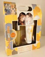 Mary-Kate & Ashley TWO Juicy Peach  Freesia Eau De Toilette & Body Lotion Set