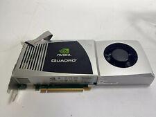 Nvidia Quadro Fx 5800 Graphic Card P607 Display Port DVI & Display Ports