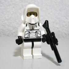 Scout Trooper Pattern Head 9489 Blaster Star Wars Lego Minifigure Mini Figure