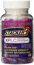 Stacker 3 XPLC Extreme Performance Formula Diet & Energy Supplement 80 Capsules