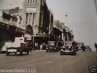 ANTIQUE VINTAGE PHOTO POSTCARD OLD BARRACK ST PERTH TOWN HALL WESTERN AUSTRALIA