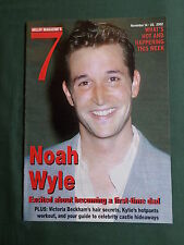 NOAH WYLE - HARRY POTTER - HELLO MAGAZINE -SUPPLIMENT 7 -   14-20 nov 2002