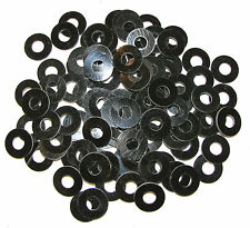 "100 Tattoo Machine Black Phenolic Coil Core Washers 5/16"" Coil Parts Made In USA"