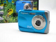 Topixo 16MP max resolution underwater digital camera, Waterproof, lomo effect