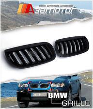 04-06 BMW E83 X3 PRE-LCI SUV 2.5 3.0 MATTE BLACK KIDNEY FRONT HOOD GRILLES grf4