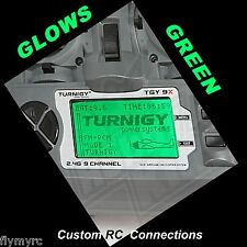 Turnigy 9X  Spektrum DX6i  transmitter backlight Glow,s GREEN!!