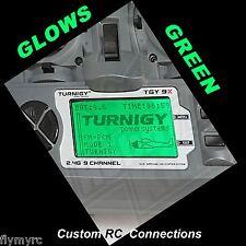 Turnigy 9X  Spektrum DX6i  transmitter backlight Glow,s GREEN!!