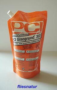PCI Gisogrund 303 1L Flächengrund Haftgrund Fliese auf Fliese Grundierung Bau