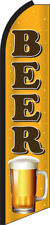 Beer Swooper Flag Feather Super Bow Banner