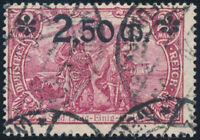 DR 1920, MiNr. 118 b, gestempelt, gepr. Bechtold, Mi. 250,-
