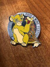 Epcot Food And Wine Festival 2020 Simba Mystery Box Pin