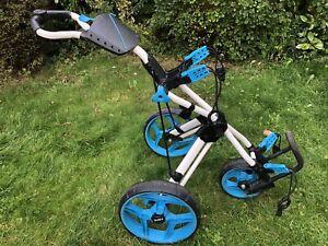 Clicgear Rovic RV3J Junior Compact Golf Push Cart Trolley - Accessories, Decent