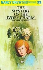 The Mystery of the Ivory Charm Nancy Drew, Book 13
