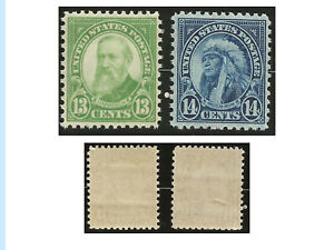 US Stamps, Set of two 1931 issues of 1922-26 Designs, 694 and 695, MHN, OG, XF,