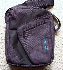 Kingsons KS3005W 12.1 inch Black Laptop Shoulder Messenger Bag Zig Zag Series