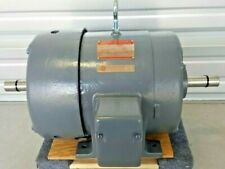 General Electric Tri-Clad Induction Motor 7.5 Hp Dual Shaft