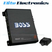 BOSS AUDIO R3002 RIOT SERIES 2 CHANNEL CH 600W CLASS AB CAR AMPLIFIER AMP
