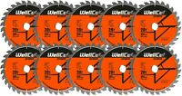 10 x WellCut Plunge Saw Blade 160mm x 28T x 20mm Bore Suitable Festool TS55 HK55