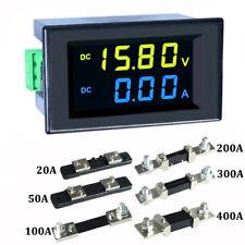 Dc 0 600v 10a 20a 50a 100a Lcd Digital Voltage Amp Panel Meter Voltmeter Ammeter