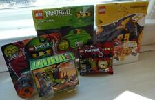 LEGO Ninjago lot of 4: 9558 Kendo Kai Training 2856134 Sensei Wu Card Shrine etc
