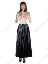 4961 Latex Rubber Gummi Pleated Full Skirts dress catsuit customized 0.4mm sexy