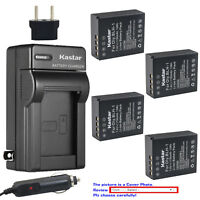 Kastar Battery Travel Charger for Olympus BLH-1 BCH-1 Olympus OM-D E-M1 Mark II