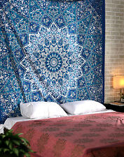 INDIAN URBAN OUTFITTERS STAR MANDALA QUEEN TAPESTRY WALL HANGING BEDSPREAD 5