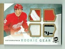 12-13 UD Upper Deck The Cup Autographed Rookie Gear  Riley Sheahan  /25  OILERS