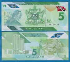Trinidad and Tobago 5 Dollars P New 2020 UNC Polymer Low Shipping! Combine FREE!