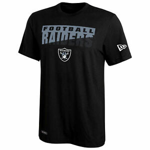 New Era NFL Football Men's Oakland Raiders Scoreboard Dri-Tek Short Sleeve Tee