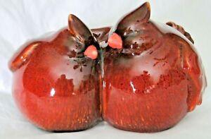 Red Cardinal Ceramic Love Birds Statue for Home GardenOutdoor Statue-NEW