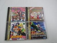 4 games Magical Drop Virtua Fighter SET Sega Saturn Japan Ver Segasaturn