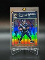 Russell Wilson 2016 Panini Donruss Optic Silver Holo Prizm #89 Seattle Seahawks