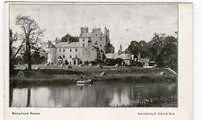 MONYMUSK HOUSE: Aberdeenshire postcard (C5656).