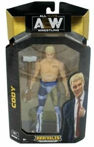 AEW Wrestling Unrivaled Collection Series 1 CODY RHODES Figure Jazwares