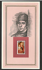 PAINTER-ART-CANADA STAMP-CARD-HANS HEMLING -QUALITY AS IN THE PICTURE