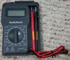 New Listingradioshack 15 Range Digital Multimeter Model 22 182
