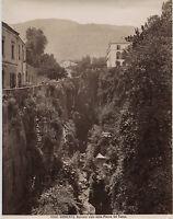 Italia Sorrento Vintage Albumina Ca 1875