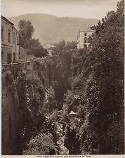Italie Sorrento Sorrente Vintage albumine ca 1875