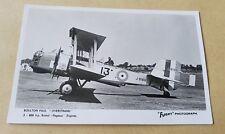 Postcard Boulton & Paul Overstrand Mk.I (J9186) Royal Air Force real photograph