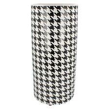 Floreros decorativos de cerámica color principal negro para el hogar