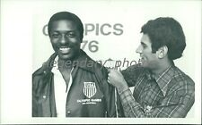 1976 James Butts Olympic Silver Triple Jump Original News Service Photo