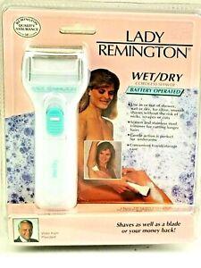 Vintage 1992 Lady Remington Wet/Dry Cordless Saver Battery Operated LWDB-3000BP