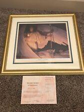 Thomas Blackshear II Watchers In The Night Framed Print 2554/3000 COA Signed