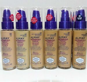 Almay Age Essentials Multi Benefit Anti Aging Make Up Foundation. CHOOSE SHADE