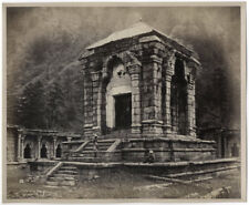 c.1860's PHOTO INDIA BOURNE - STONE TOMB