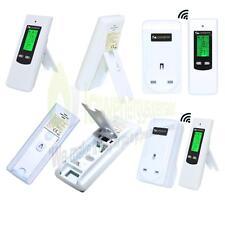 Digital Inalámbrico Enchufe en Termostato de Calefacción Control Remoto Eléctrico Enchufe de RF