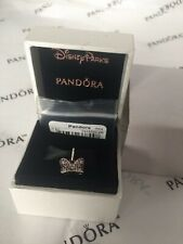 AUTHENTIC PANDORA CHARM  791556CZR Disney Minnie bow silver dangle(DISCONTINUED)
