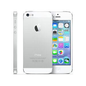 "Original Unlocked Apple iPhone 5 5G - iOS 64GB 4G Smartphone - White/Black 4.0"""